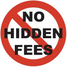 no hidden fees